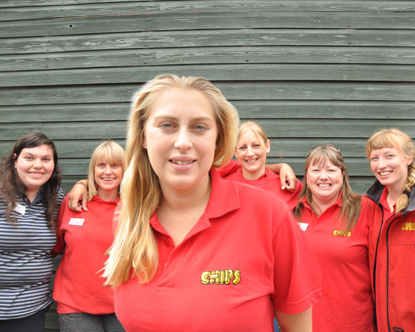 CHIPS School Holiday Club Guildford Staff
